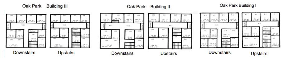 Oak Park Floorplans