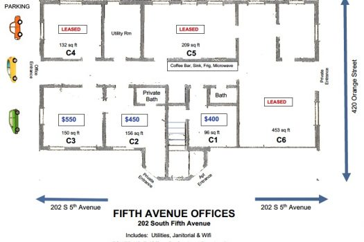 Floor Plan 5th